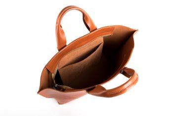 Velká luxusní kabelka z pravé kůže