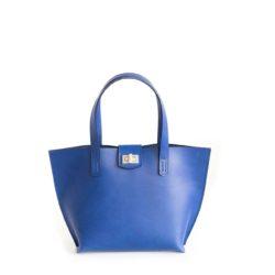 Modrá kabelka z exkluzivní italské kůže