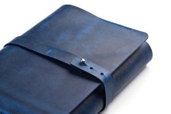 Kožený obal na knihu A5 univerzální