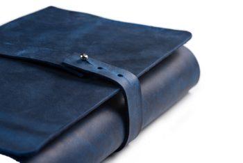 Luxusní kožený obal na knihu A5 univerzální