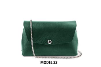 Vyberte si model kabelky - barva, typ kování a tvar klopy