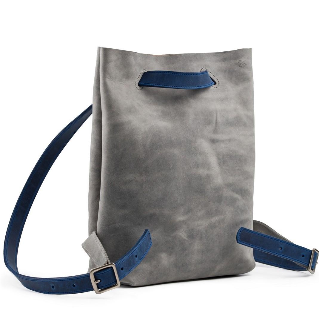 Kožený batoh z vysoce kvalitní hovězí broušené kůže