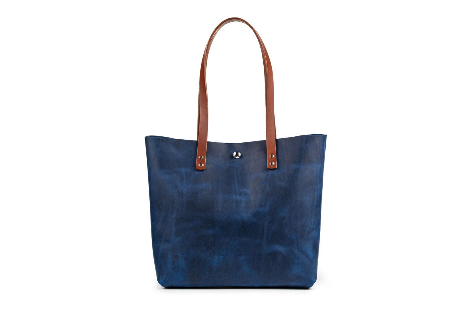 Kabelka shopper bag, česká ruční výroba z vysoce kvalitních italských usní
