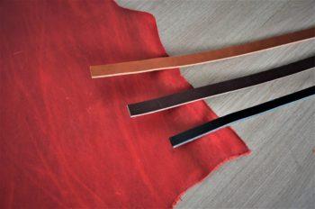 Kurz výroby velké kabelky - červená barva